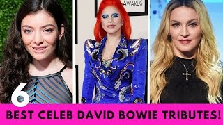 Top 6 Best Celebrity David Bowie Tributes!