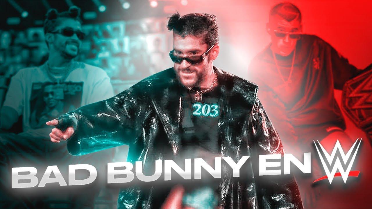 Bad Bunny en WWE   La mejor aparicion de una celebridad