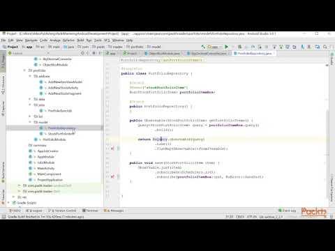12 Using ObjectBox Framework