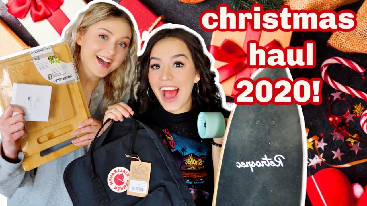 WHAT WE GOT FOR CHRISTMAS!   CHRISTMAS HAUL 2020