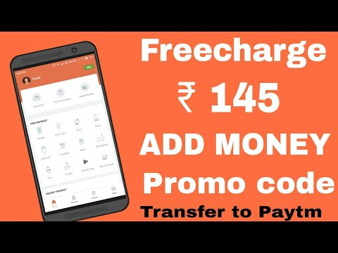 FreeCharge ₹145 ADD Money promo code  Per Number. Official Loot trick for All users.