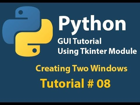 Python GUI: Showing Second window from Main Window and passing Main window data to it Tutorial# 8