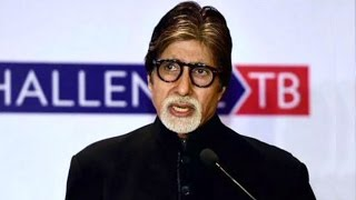 "Amitabh Bachchan At ""TB Harega, Desh Jeetega"" Campaign Launch"