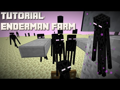 Minecraft: Enderman XP Farm (Simple, Easy & Fast for Survival) (Remastered) 1.12/1.11/10/9/8