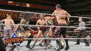 12-Man Tag Team Match: SummerSlam 2016 Kickoff, only on WWE Network