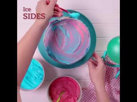Betty Crocker Gluten Free Watercolour Cake Recipe
