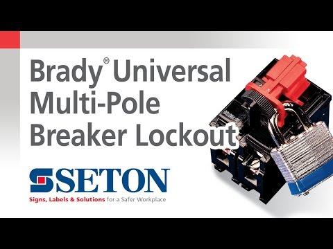 How to Install A Brady® Universal Multi-Pole Breaker Lockout Device   Seton Video