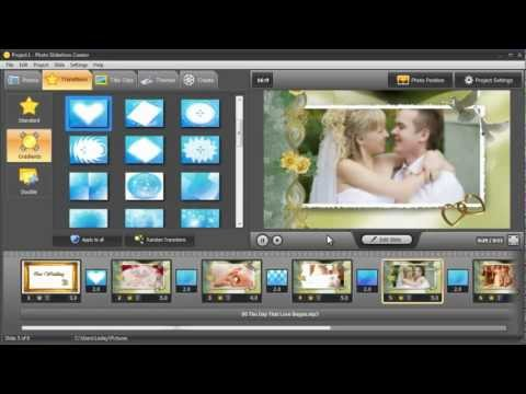 How to Make a Professional Wedding Slideshow