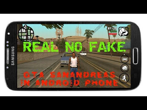 HOW TO PLAY GTA SanAndreas IN ANY ANDROID PHONE (WITH PROOF NO FAKE)