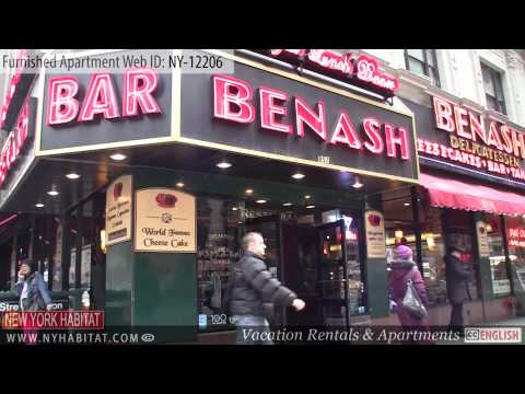 New York City - Video tour of a furnished rental on West 51st Street (Midtown West - Manhattan)