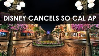 Disneyland discontinues So Cal Annual Pass - Reasons and Implications