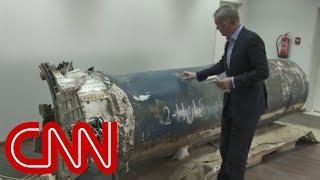 Saudis: Missile evidence Iran backing Yemeni rebels