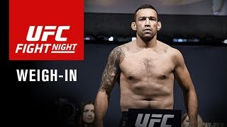 UFC Fight Night Sydney: Official Weigh-in