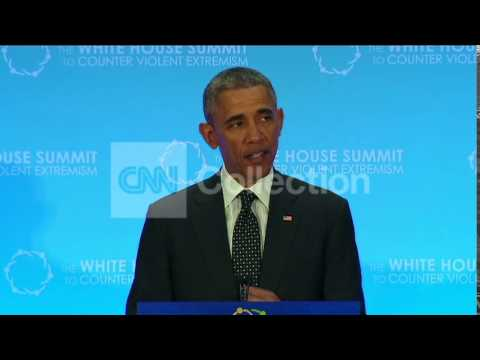 WH SUMMIT:OBAMA-BREAK CYCLE OF SECTARIAN CONFLICT