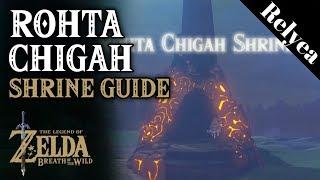 Rohta Chigah Shrine Guide Breath of the Wild DLC 2- Champion's Ballad
