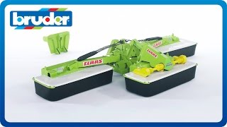 Bruder Toys CLAAS Disc 8550 C Plus Three Part Mower #02218