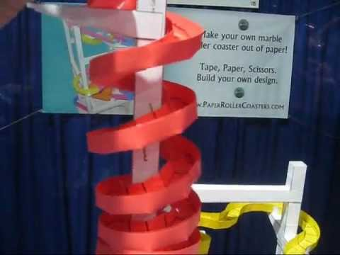 The Long Beach Paper Roller Coaster
