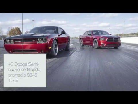Las 9 marcas de autos semi-nuevos certificados con  los precios más bajos.