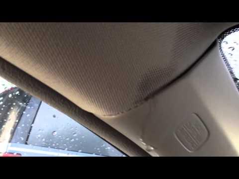 Interior Water Leak 2010 Honda Civic Roof Panel Side Curtain Airbag