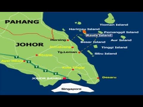 Pulau Rawa, Mersing. Johor