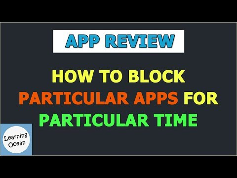 How To Block particular Apps for Particular Time In Hindi | Android | Free App | App Review