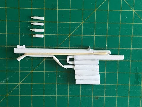 How to make paper gun that shoots powerful bullets