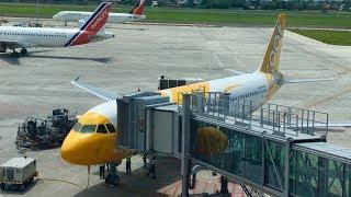 SCOOT | CEBU-SINGAPORE | ECONOMY CLASS | AIRBUS A320-200