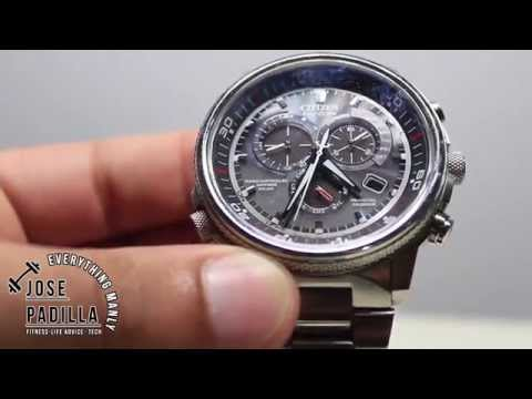 Watch Review: Citizen Men's AT4110-55E