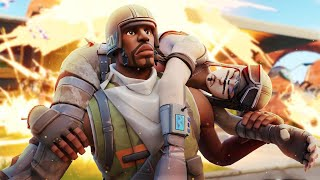 I Met A Rare Aerial Assault Trooper And Carried Him In Fortnite