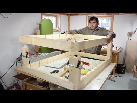 Building the dresser frame (dresser build, part 2)