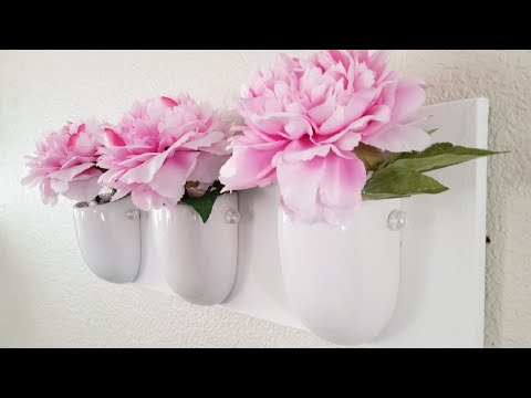 CANVAS WALL ART DECOR | INEXPENSIVE DIY FOR THOSE ON A BUDGET 2018