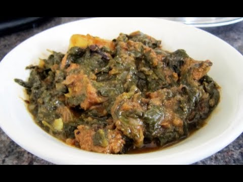 palak gosht/Beef Spinach Curry Easy recipe by ( COOKING WITH HADIQA )