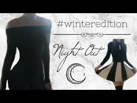 Cold Weather Outfits - Winter Night Out