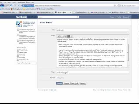 How to make a clickable link FB Fanpage