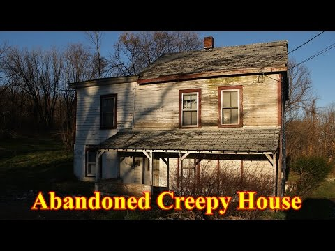 Abandoned Creepy Haunted House In New Jersey