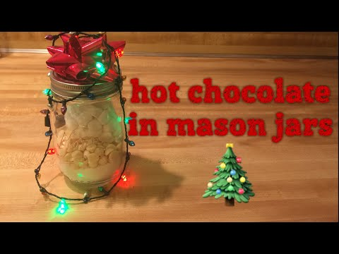 VLOGMAS Day 6: How To Make Hot Cocoa In Mason Jars (Great Stocking Stuffers!!)