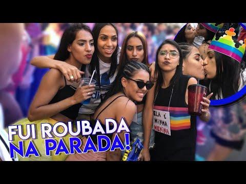 Xxx Mp4 FOMOS ROUBADOS NA PARADA GAY 😱 VLOG 3gp Sex
