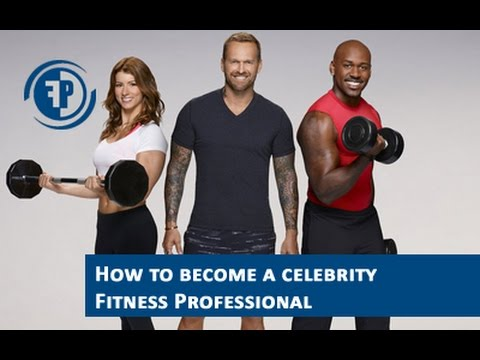 How to become a personal training celebrity