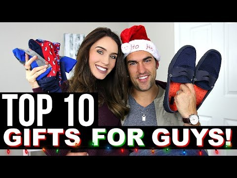 TOP 10 CHRISTMAS GIFTS FOR GUYS | Holiday Gift Guide 2017