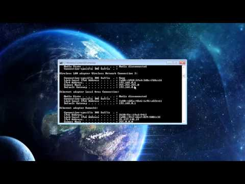 {Tutorial} How to find your LAN IP-IPV4 address
