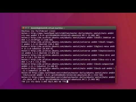 Ubuntu / Linux Mint - VLC Media Player 3.0 installieren