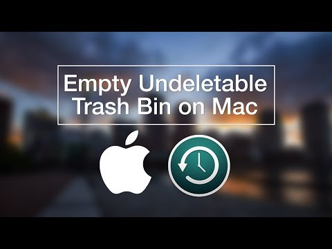macOS Sierra | How to Delete Undeletable Files from Trash Bin