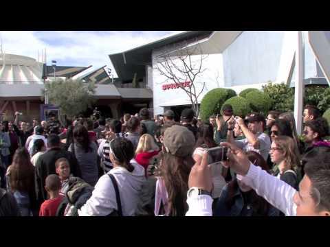 Captain EO Tribute Debut at Disneyland