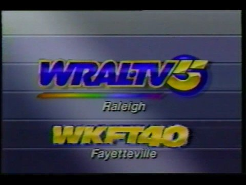 WRAL and WKFT ID 1989 Raleigh and Fayetteville, North Carolina