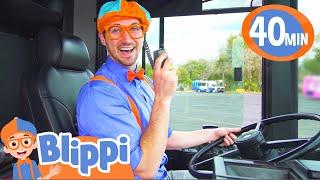 Blippi Explores A Bus | Educational Videos For Kids | Blippi Videos