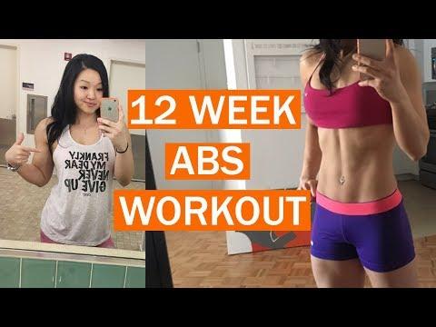 12 Week Abs Workout - NPC Figure Bodybuilding