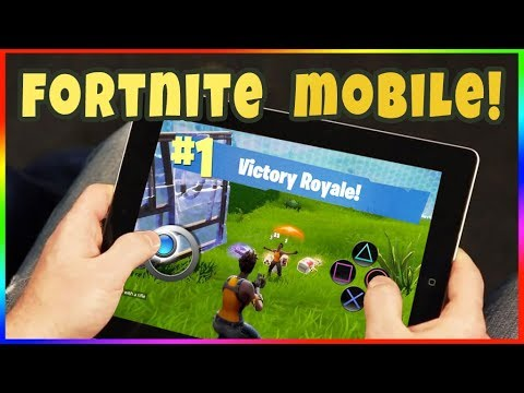 FORTNITE ON MOBILE & TABLET! How To Get Fortnite Mobile Beta for iOS! Fortnite Android APK Soon!