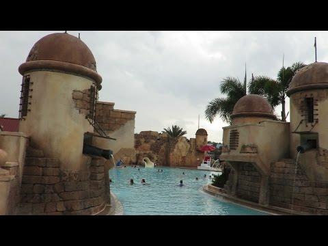 A Rainy Day At Walt Disney World's Caribbean Beach Resort!!! (4.16.2015)