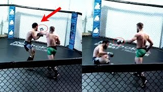 Conor McGregor Sparring | Analysis