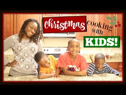 CHRISTMAS COOKING WITH KIDS Collab | Reindeer Cookies